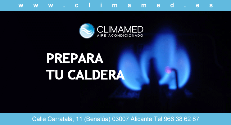 Revision caldera de gas Alicante