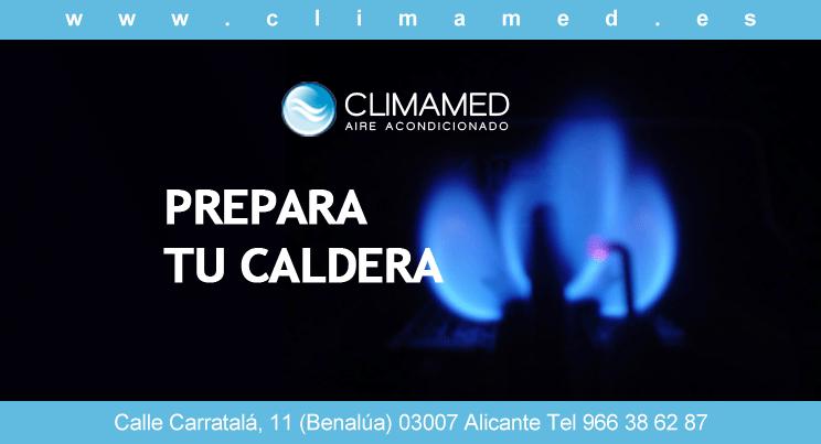 Revision caldera de gas Alicante