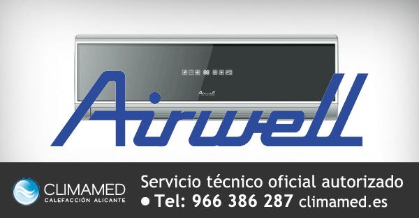 Servicio tecnico autorizado oficial Airwell Alicante