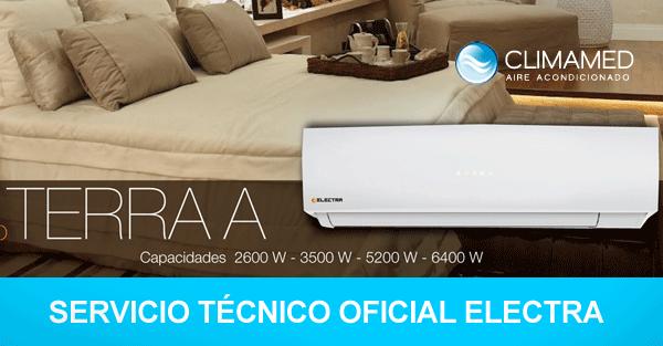 Electra aire acondicionado modelo terra a alicante