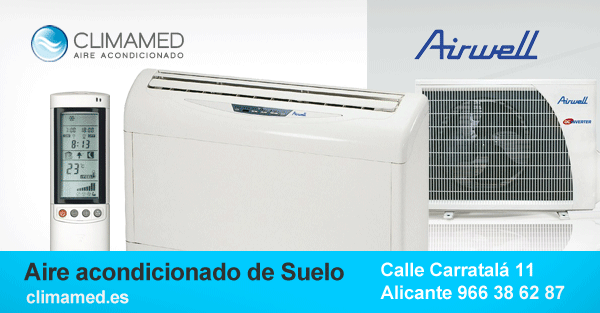 Aire acondicionado de suelo Alicante