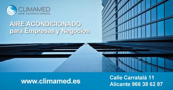 Mantenimiento aire acondicionado empresas en Alicante
