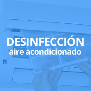 Limpieza y desinfección aire acondicionado Alicante