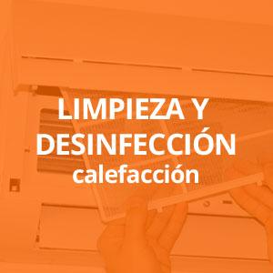 Limpieza y desinfección calefacción Alicante