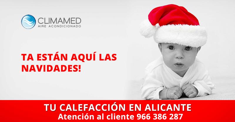 Navidades Alicante. Empresa de calefacción