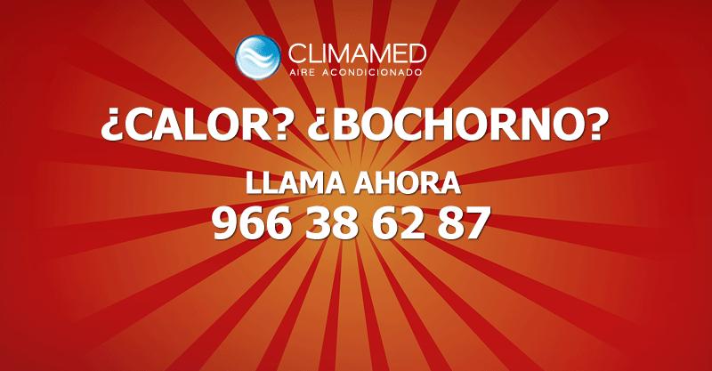 Aire acondicionado Alicante, Torrevieja, Benidorm, Orihuela