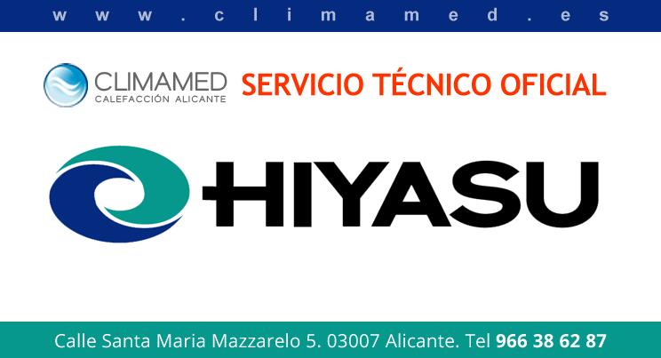 Servicio técnico oficial Hiyasu Alicante